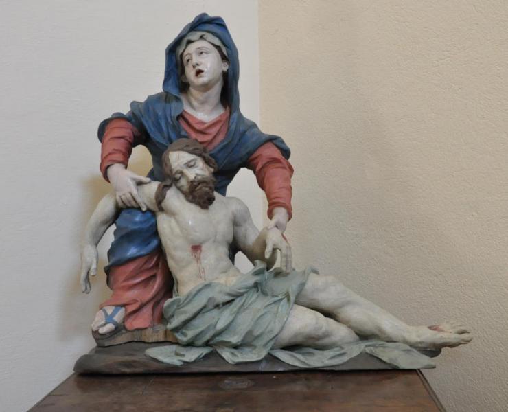 Pieta restaurée