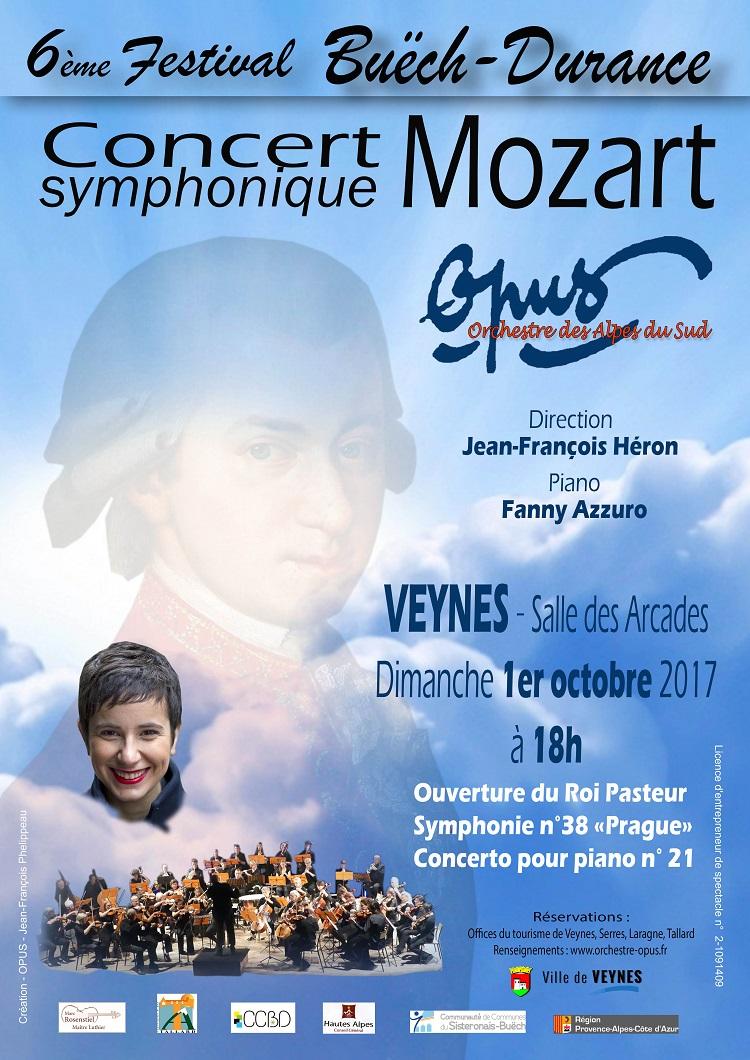 Affiche concert mozart 2017