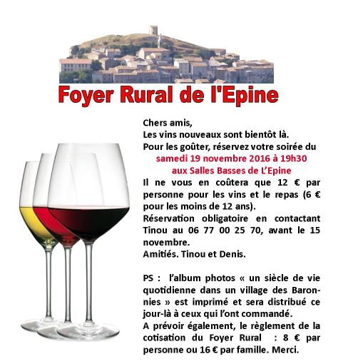 Foyer vins
