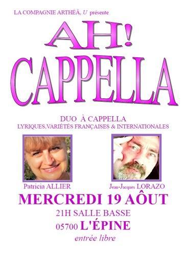 Ah cappella